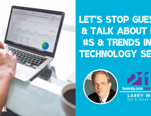 Let's Stop Guessing & Talk About REAL Numbers & Trends in the Technology Sector