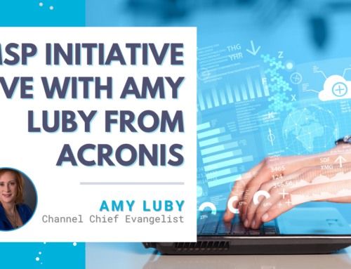 MSP Initiative LIVE with Amy Luby from Acronis