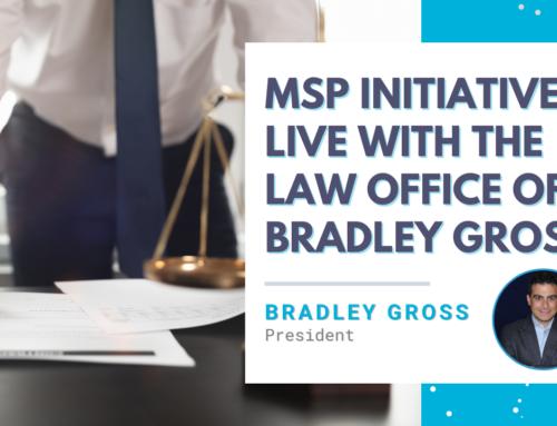 MSP Initiative LIVE with Bradley Gross